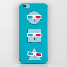 3D Shapes iPhone & iPod Skin