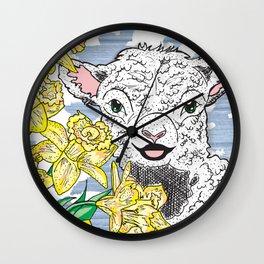 Lamb Wall Clock