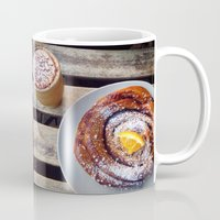 swedish Mugs featuring Swedish fika by Jeanette Perlie
