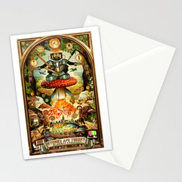 Stoned Ape Theory Stationery Cards