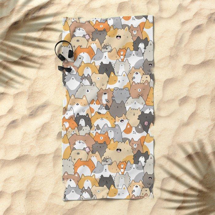 Cats, Kitties and a Spy Beach Towel