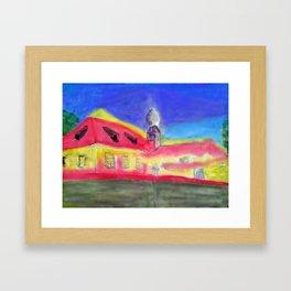 Kleine Wallfahrtskirche bei Kelheim Framed Art Print