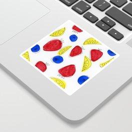 Mixed Fruit Sticker