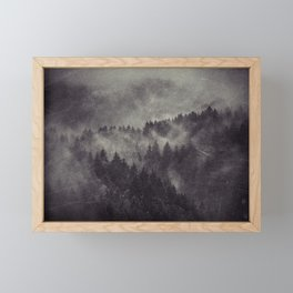 Excuse me, I'm lost Framed Mini Art Print