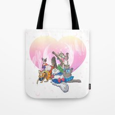 Sailor Kitties Tote Bag