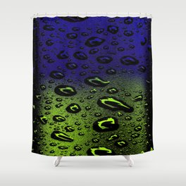 Night And Day Dew Shower Curtain