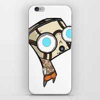 borderlands iPhone & iPod Skins featuring Borderlands Bandit GIR by Diffro