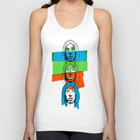 iggy Tank Tops featuring Iggy by Mohac