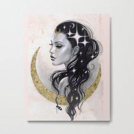 Moon Drifter Metal Print