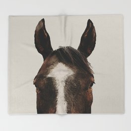 Trigger King of Paints Throw Blanket