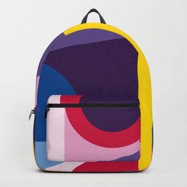 Abstract modern geometric background. Composition 2 Backpack
