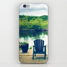 Cape Cod Summer View iPhone Skin