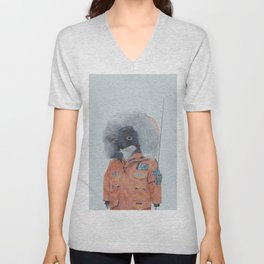 Antarctic Penguin Unisex V-Neck