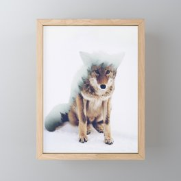 The Wolf Framed Mini Art Print