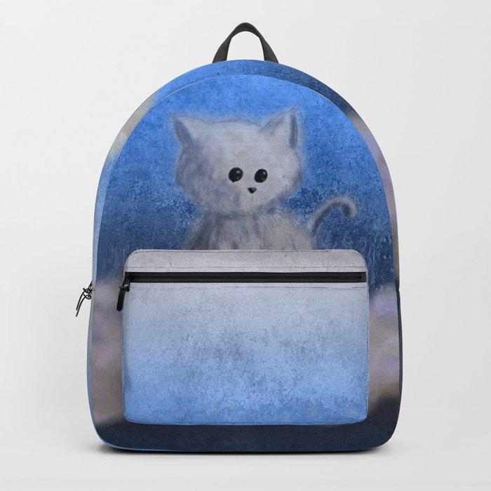 kitten in the sky Backpack