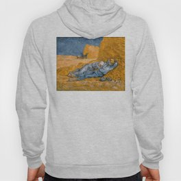 "Vincent van Gogh - Noon Rest From Work (A ""Copy"" of a Jean-François Millet Work) Hoody"