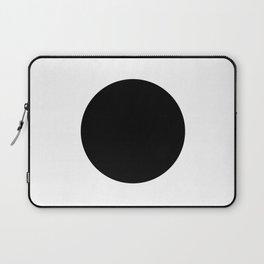 The Circle – Black Laptop Sleeve