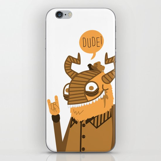 Monster Trucker iPhone & iPod Skin
