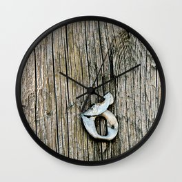 Bent Out of 8 Wall Clock
