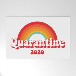 Quarantine 2020 Welcome Mat