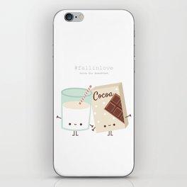 Fall in love - Ingredienti coraggiosi iPhone Skin