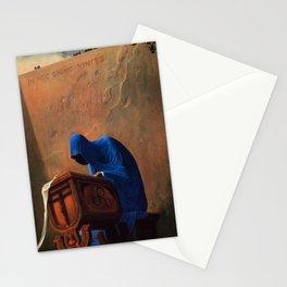 Untitled (The Accountant) by Zdzislaw Beksinski Stationery Cards