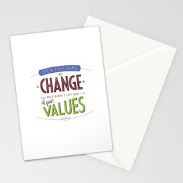 Rules for Living #9 Stationery Cards