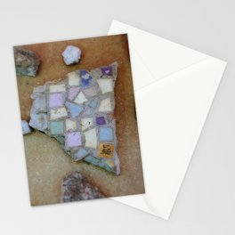 Mosaic Rocks Stationery Cards
