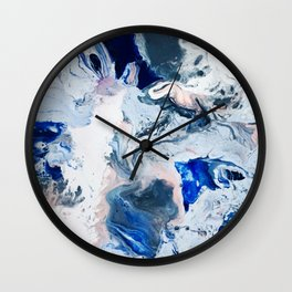 Paint Puddle #22 Wall Clock