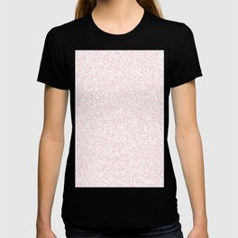 Tiny Spots - White and Light Pink T-shirt