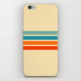Ienao - Classic 70s Retro Stripes iPhone Skin