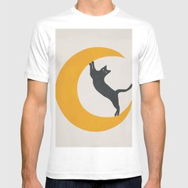 Moon and Cat T-shirt