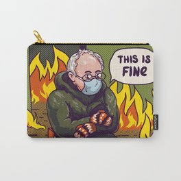 Bernie - Mittens Carry-All Pouch