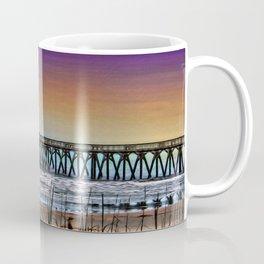 Myrtle Beach State Park Pier - Photo as Digital Paint Coffee Mug