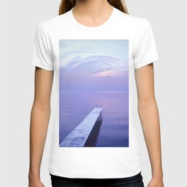 Long Dock Coastal Potography T-shirt