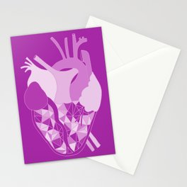 Bruised Heart Stationery Cards