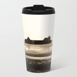 Watching the ships go by Travel Mug