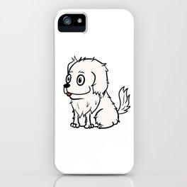 Great Pyrenees Cute Cartoon  iPhone Case