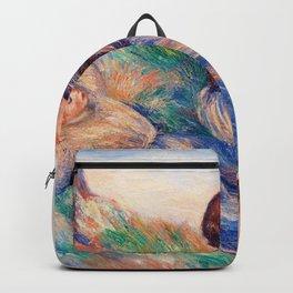Pierre-Auguste Renoir - Grape Gatherers - Digital Remastered Edition Backpack