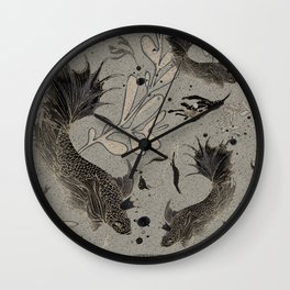 Lost. It's where she feels at ease. Wall Clock