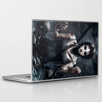 tomb raider Laptop & iPad Skins featuring Tomb Raider by Max Grecke