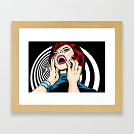 Screaming Sixties Framed Art Print