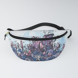 Ninja and the wood Fanny Pack