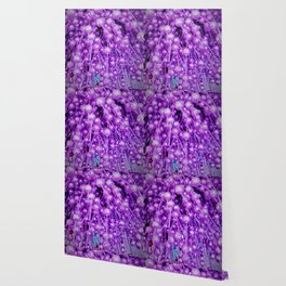purple brocade balls Wallpaper