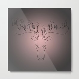 Rudolf on a summer's day Metal Print