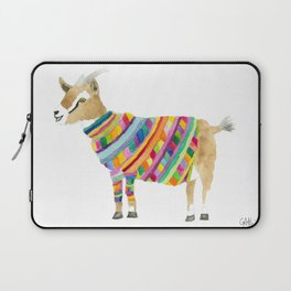 Goat in a Sweater Laptop Sleeve