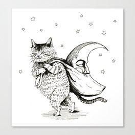 the moon thief Canvas Print