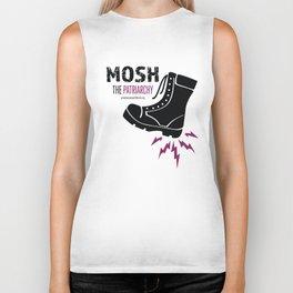 MOSH the Patriarchy Biker Tank