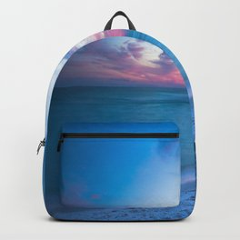 If By Sea - Sunset and Emerald Waters Near Destin Florida Backpack