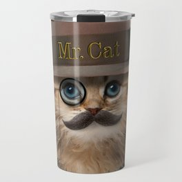 Mister Cat Travel Mug